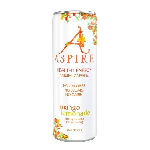 Aspire Mango Lemonade Energy Drink - 12 fl oz Can - image 1 of 3