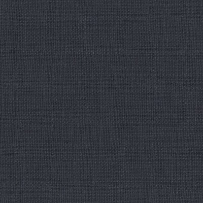 Twin Bella Nail Button Border Bed Navy Linen with Pewter Nailbuttons - Cloth & Co., Blue Linen
