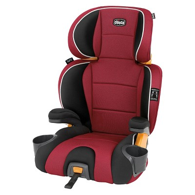 Chicco KidFit Booster Car Seat - Paprika