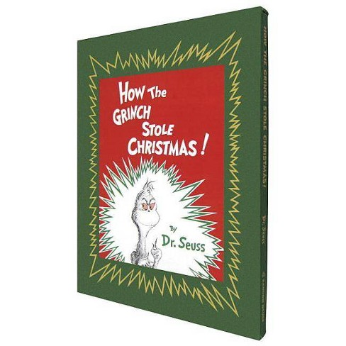 How the Grinch Stole Christmas! Deluxe Edition - (Deluxe Slipcased Gift Books) (Hardcover) - image 1 of 1