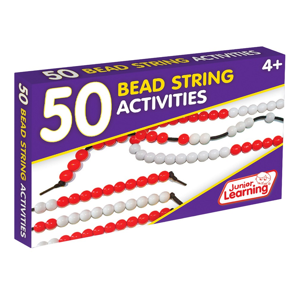 Junior Learning 50 Bead String Activities Learning Set