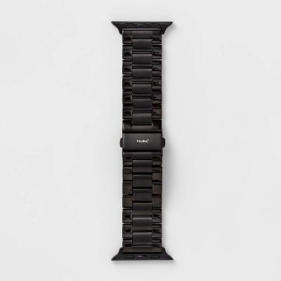 heyday™ Black Metal Link Band 42/44mm