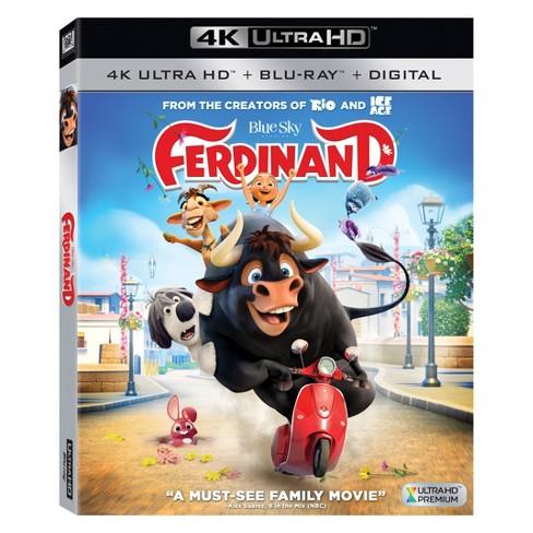 Ferdinand (4K-UHD + Blu-ray + Digital) - image 1 of 1