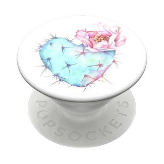 PopSockets PopGrip Cell Phone Grip & Stand - Succulent Heart