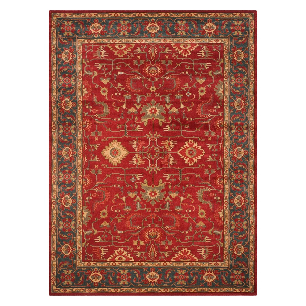 11'X16' Medallion Area Rug Red/Navy (Red/Blue) - Safavieh