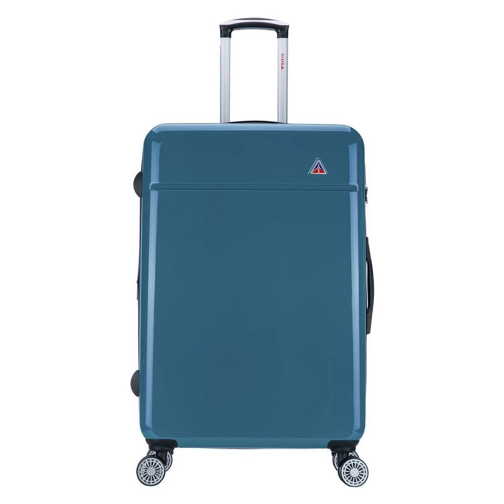 "Image of ""InUSA Avila 28"""" Hardside Spinner Suitcase - Navy Blue, Blue Blue"""