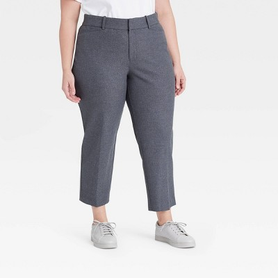 Women's Plus Size Plaid Trousers - Ava & Viv™