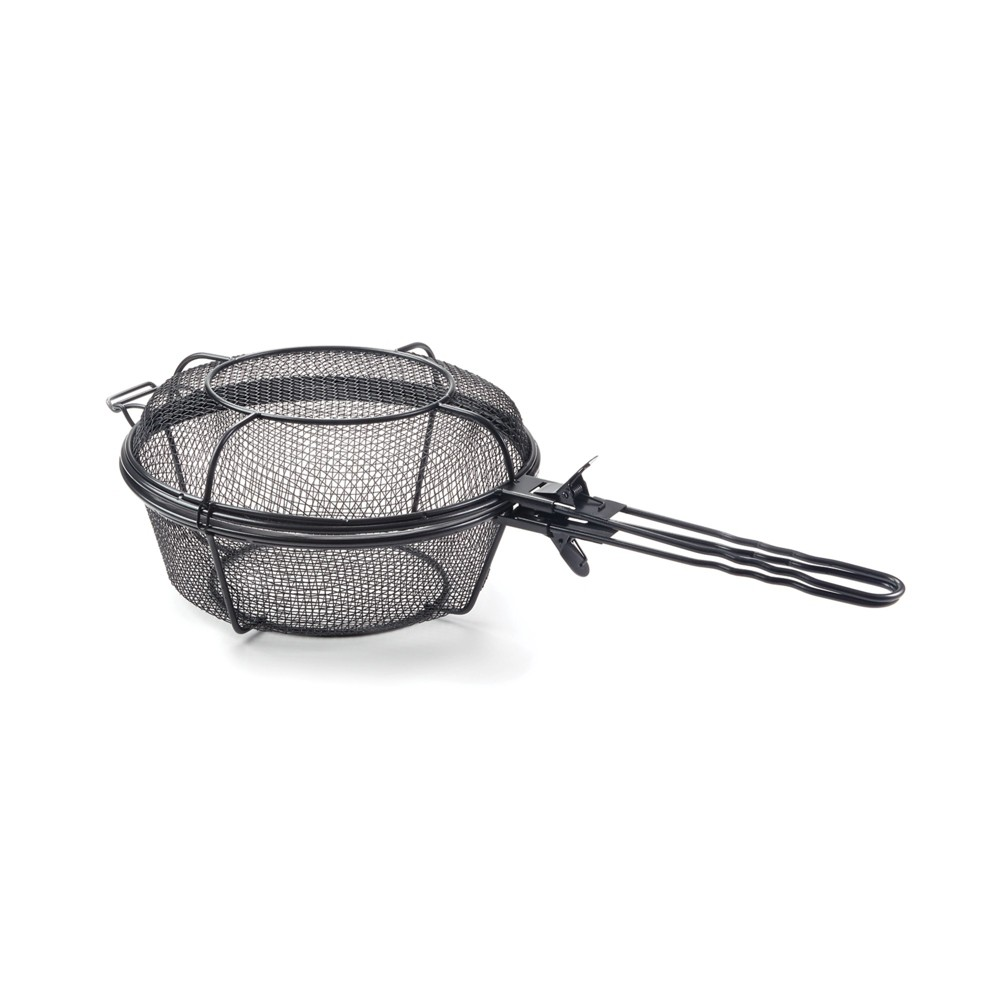 Grill Basket with Removable Handle – Outset, Black 52859778