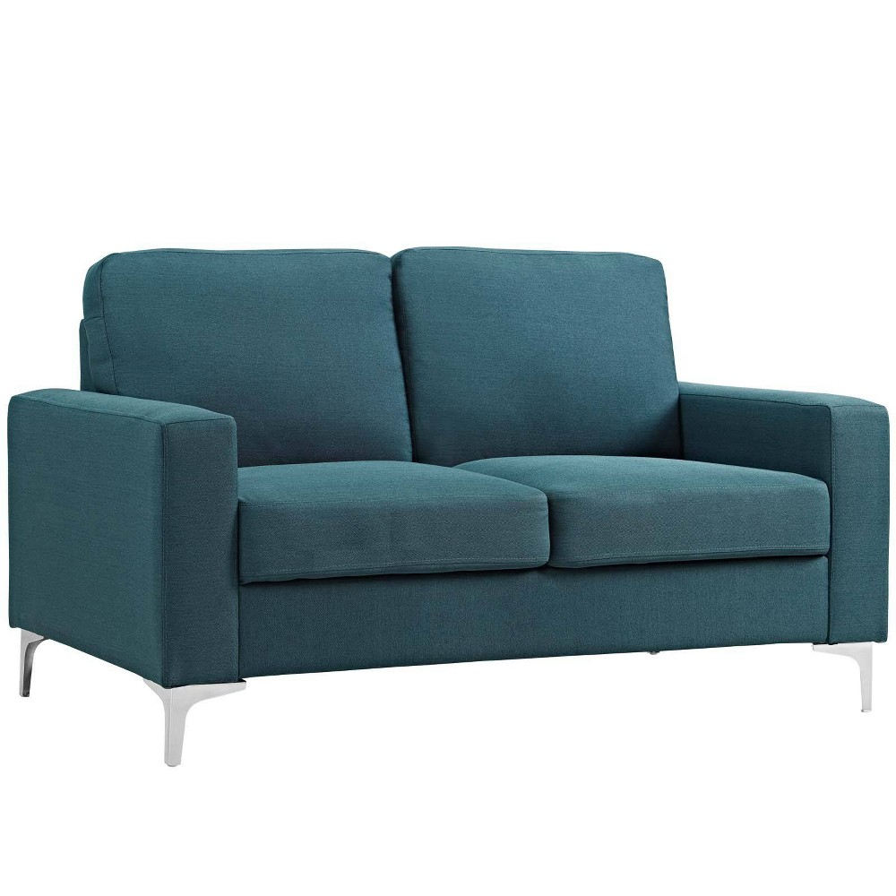 Allure Upholstered Sofa Blue - Modway