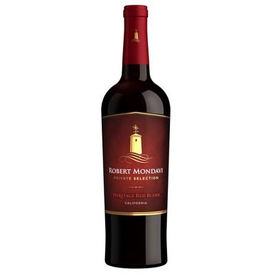 Robert Mondavi Private Selection Heritage Red Blend Wine - 750ml Bottle