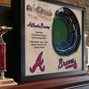 MLB Atlanta Braves 25 Layer Stadiumviews 3D Wall Art - image 3 of 4