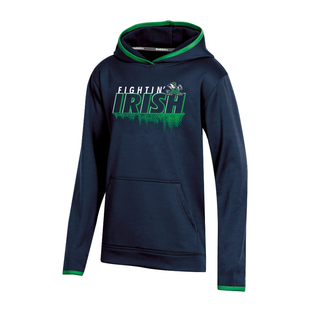 Notre Dame Fighting Irish Boys' Performance Hoodie - XL, Multicolored