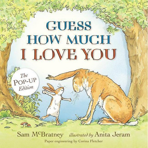 Guess How Much I Love You - by  Sam McBratney (Hardcover) - image 1 of 1