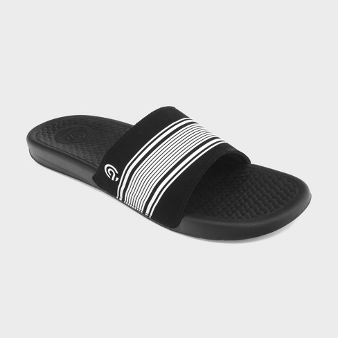 men s seth slide sandals c9 champion black target