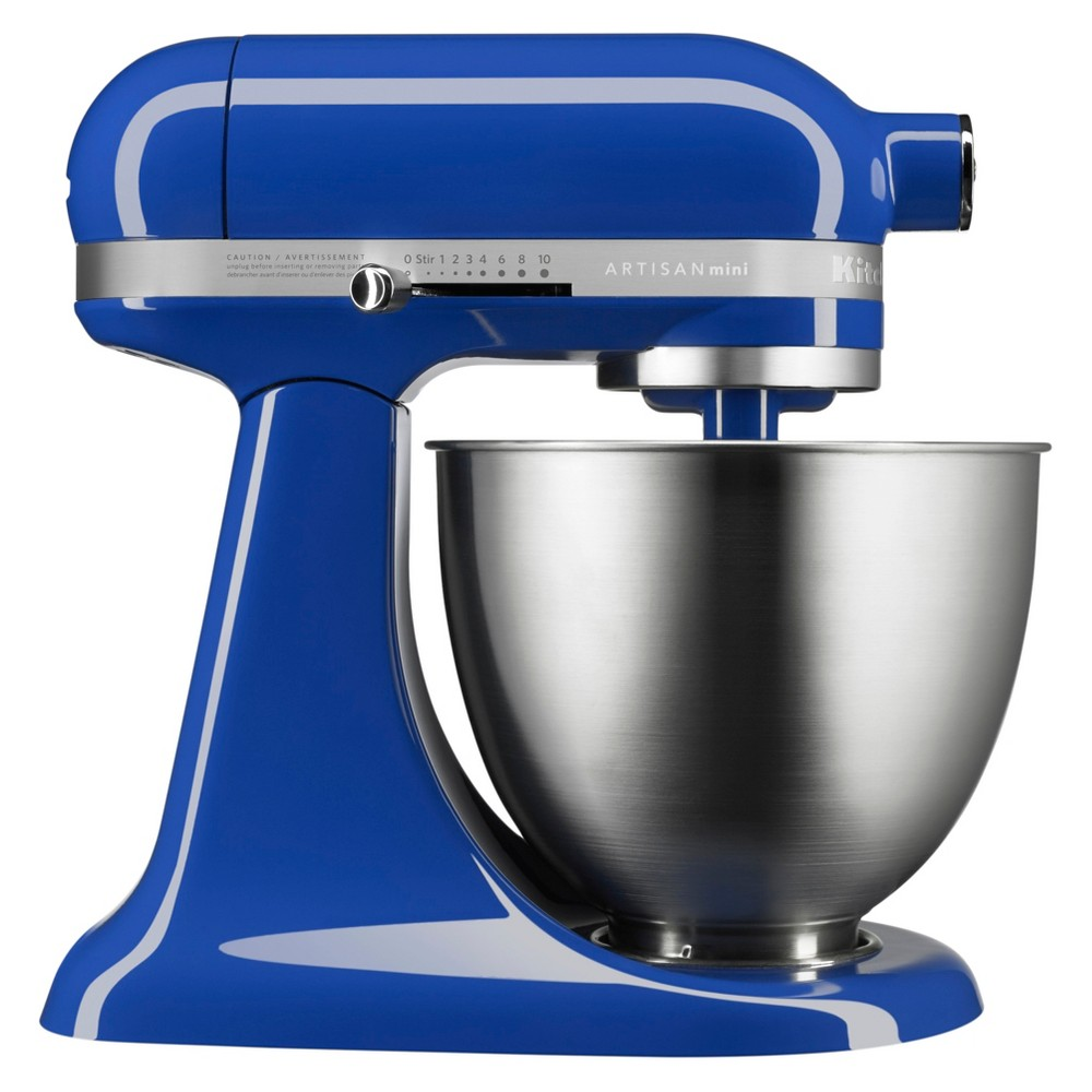 KitchenAid Refurbished Artisan Mini 3.5 Quart Tilt-Head Stand Mixer Twilight Blue - RKSM33XXHT