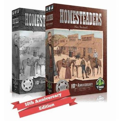 Homesteaders (10th Anniversary Edition) Board Game