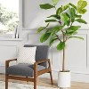 """72"""" Artificial Fiddle Leaf Tree in Pot - Threshold™ - image 2 of 4"""