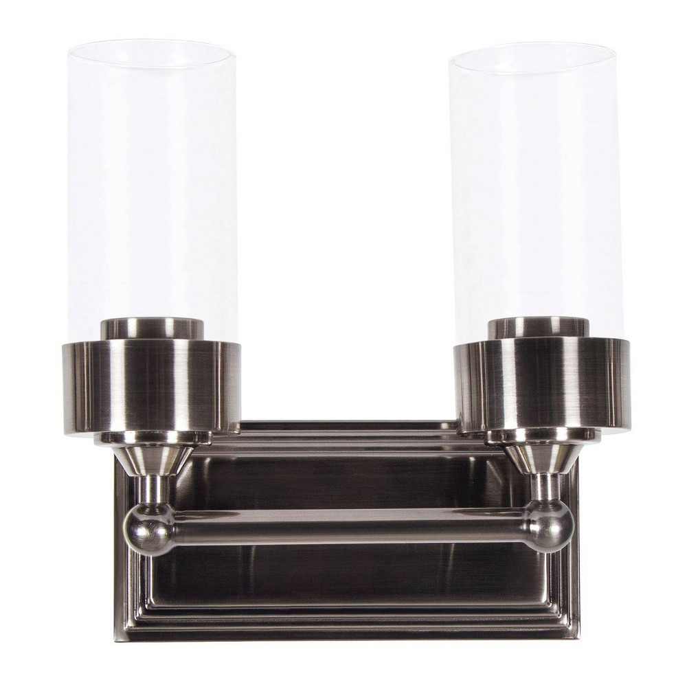 Image of Esquire Two Light Vanity Gunmetal - Sunset Lighting