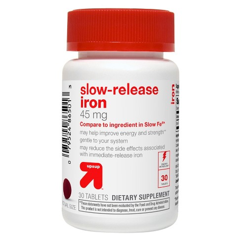 Iron Slow Release Dietary Supplement Tablets - 30ct - Up&Up™ - image 1 of 2