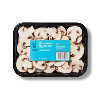 Sliced White Mushrooms - 8oz - Good & Gather™