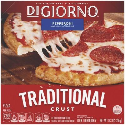DiGiorno Traditional Crust Pepperoni Frozen Pizza - 9.3oz