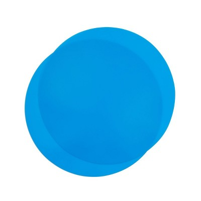 Juvale 2 Pack Silicone Microwave Mats, Blue Kitchen Pot Holders, 11.75 In Round Trivets