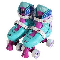 Disney Frozen Quad Skates - Light Blue/Purple, Kids Unisex