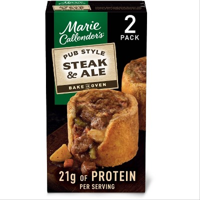 Marie Callender's Frozen Steak & Ale Style Pot Pie - 20oz