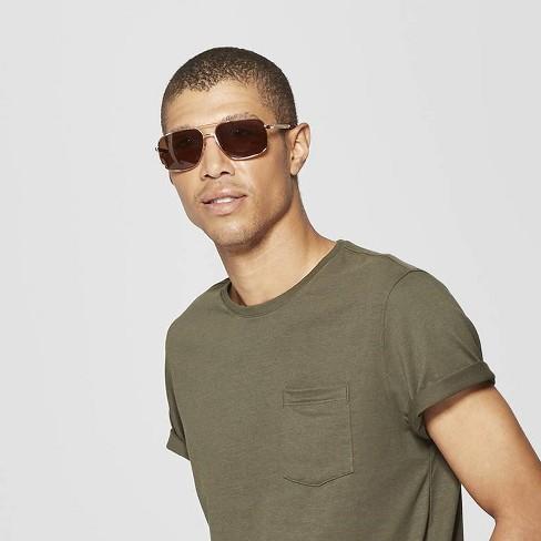 e9034dd72863f Men s Polarized Navigator Sunglasses - Goodfellow   Co™   Target