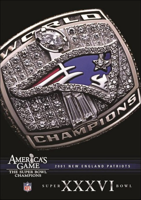 Nfl america's game:2001 patriots (DVD) - image 1 of 1