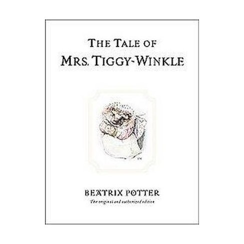The Tale of Mrs. Tiggy-Winkle - (Peter Rabbit) 100 Edition by  Beatrix Potter (Hardcover) - image 1 of 1