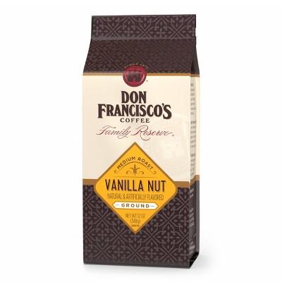 Don Francisco's Family Reserve Vanilla Nut Medium Roast Ground Coffee 12oz