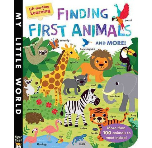 Finding First Animals and More! (Hardcover) (Libby Walden) - image 1 of 1