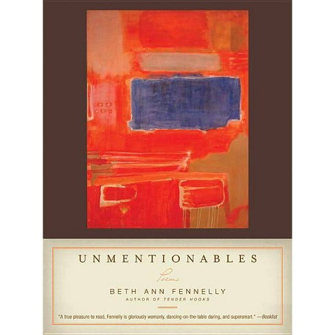 Unmentionables - by  Beth Ann Fennelly (Paperback) - image 1 of 1