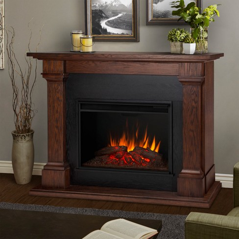 Real Flame - Callaway Grand Decorative Fireplace - image 1 of 7