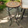 Outdoor Mosaic Accent Side Table - Haven Way - image 2 of 4