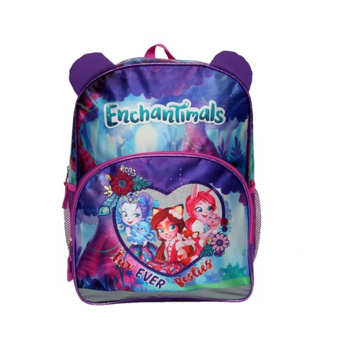 "Enchantimals 16"" Furever Besties Kids' Backpack - Purple - image 1 of 6"