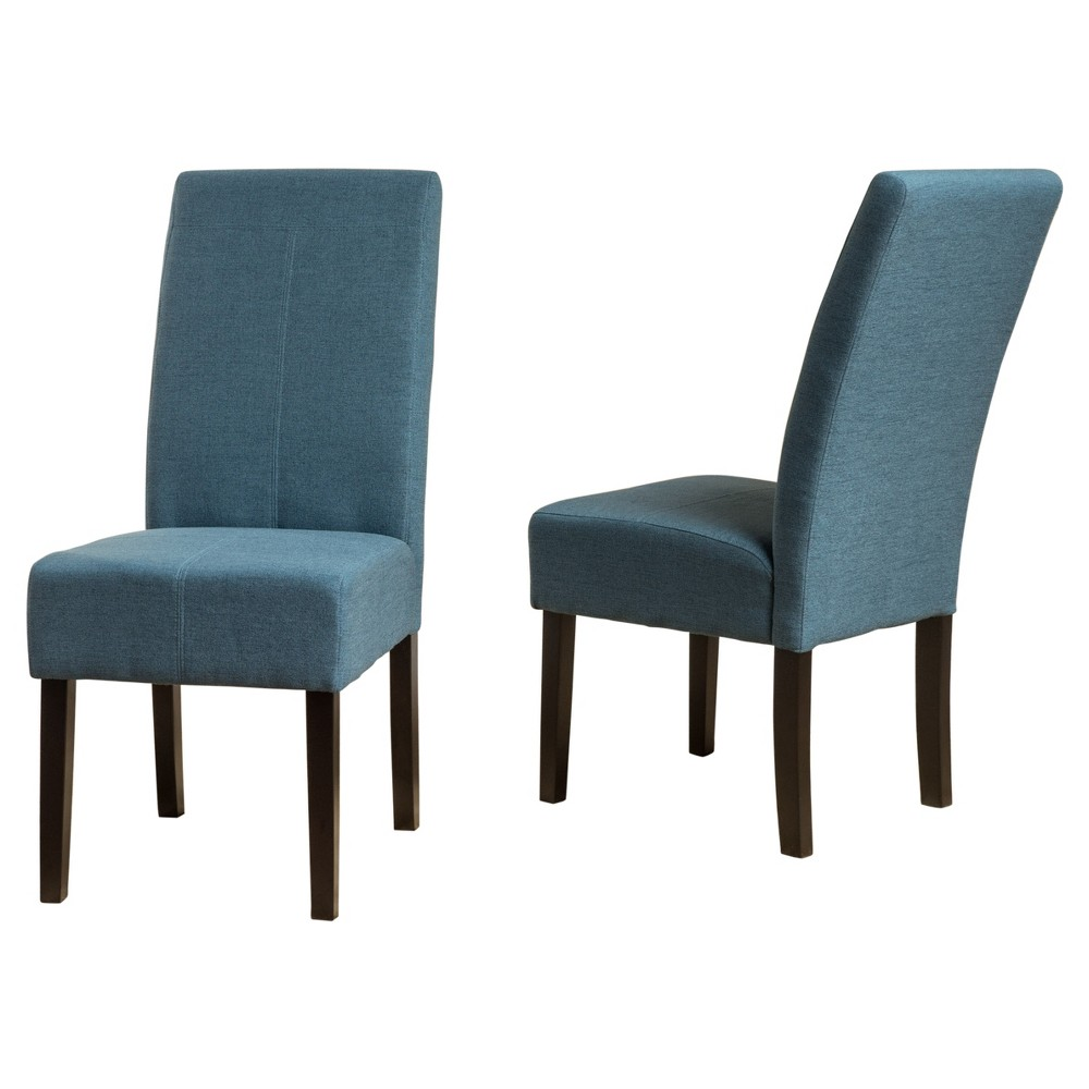 Pertica Dining Chair - Blue (Set of 2) - Christopher Knight Home