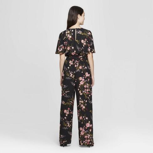 a5266af3642 Women s Short Sleeve Wrap Jumpsuit - Xhilaration™   Target