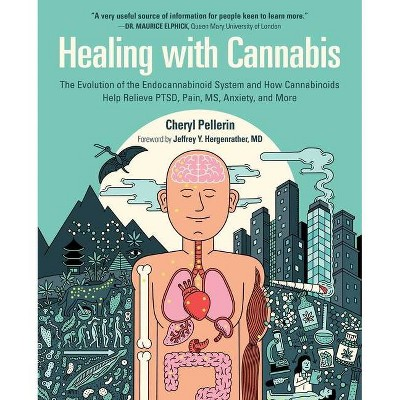 Healing with Cannabis - by  Cheryl Pellerin (Hardcover)