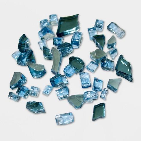Reflective Fire Pit Fire Glass - Blue Sky - AZ Patio Heaters - image 1 of 1