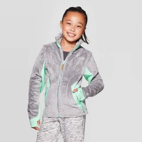 Girls' Fleece Jacket - C9 Champion® - image 1 of 3