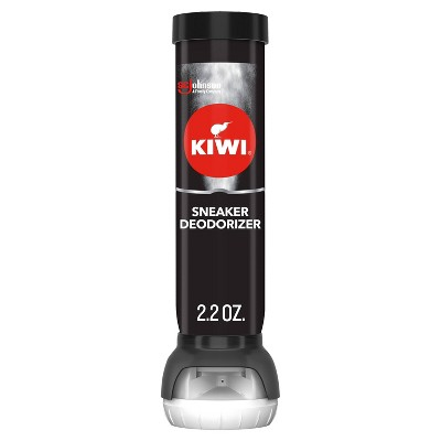 KIWI Sneaker Deodorizer Black Spray - 2.2oz