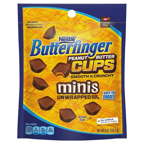 Butterfinger Peanut Butter Cups Minis - 8oz - image 1 of 3