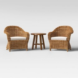 Eldridge Patio Chat Set - Brown - Smith & Hawken™