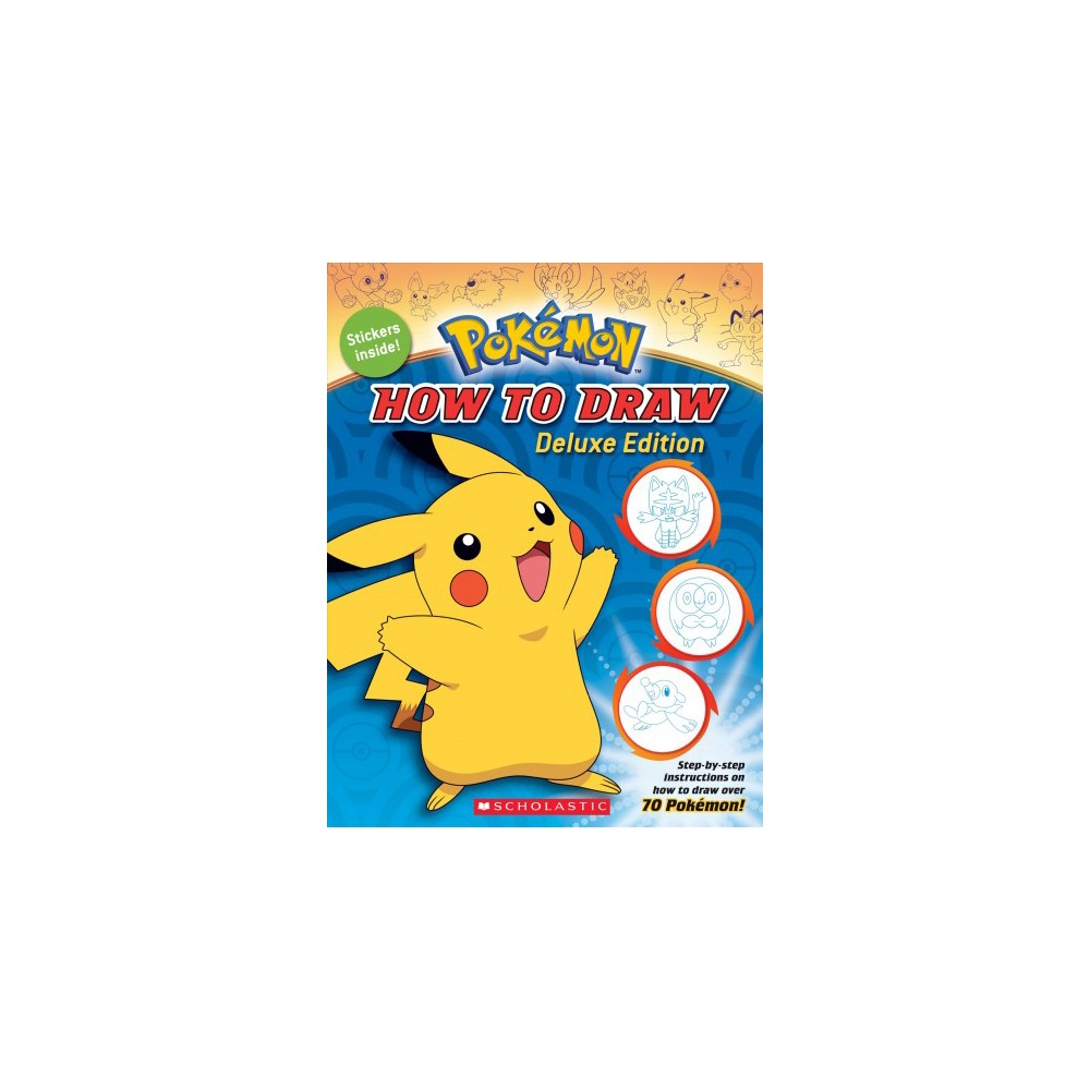 How to Draw Pokemon Deluxe Edition