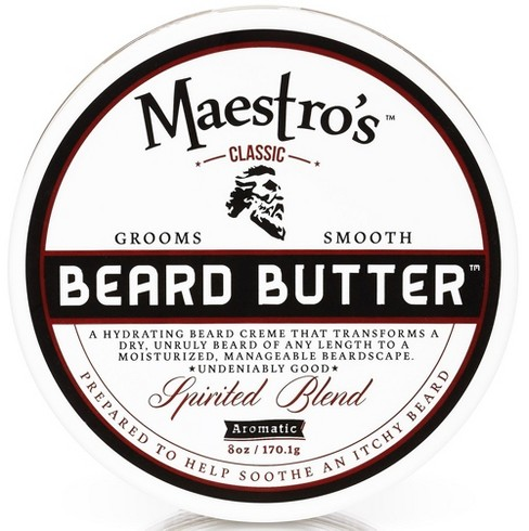 Maestro's Beard Butter Spirited Blend Pre-Shave Lotion - 8oz - image 1 of 1