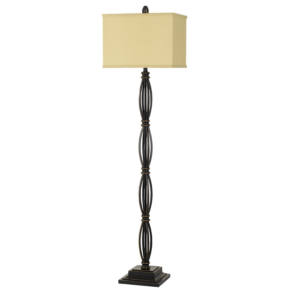 Image of 150W 3 Way Mondovi Metal Floor Lamp - Cal Lighting