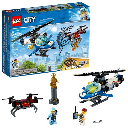 Lego City Sky Police Drone Chase 60207 Target