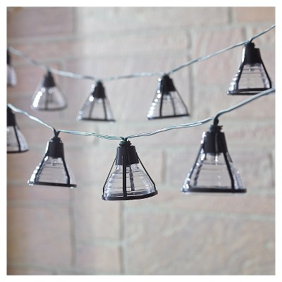 Smart SolarSolar String Light - Bente (Black)- 20 White LEDs Black